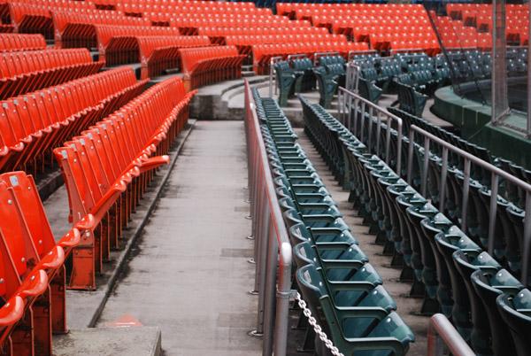 市民球場の内野席その3
