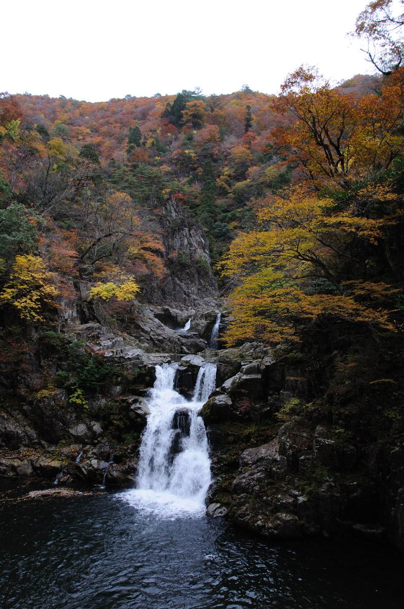 三段峡の三段滝その2