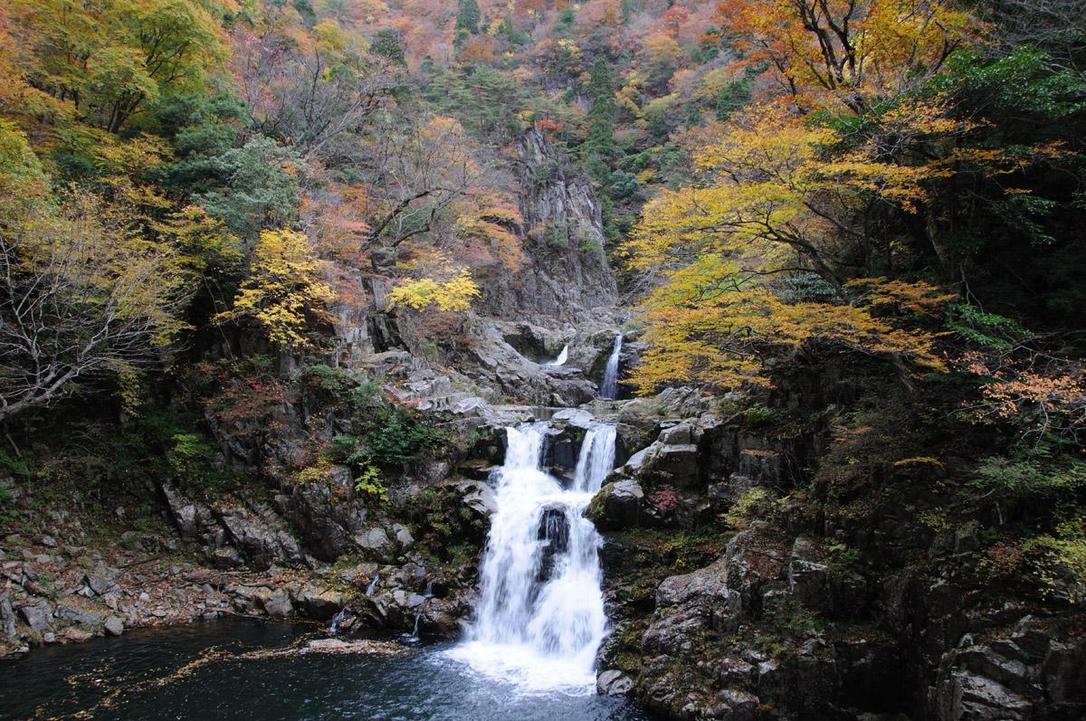 三段峡の三段滝その3
