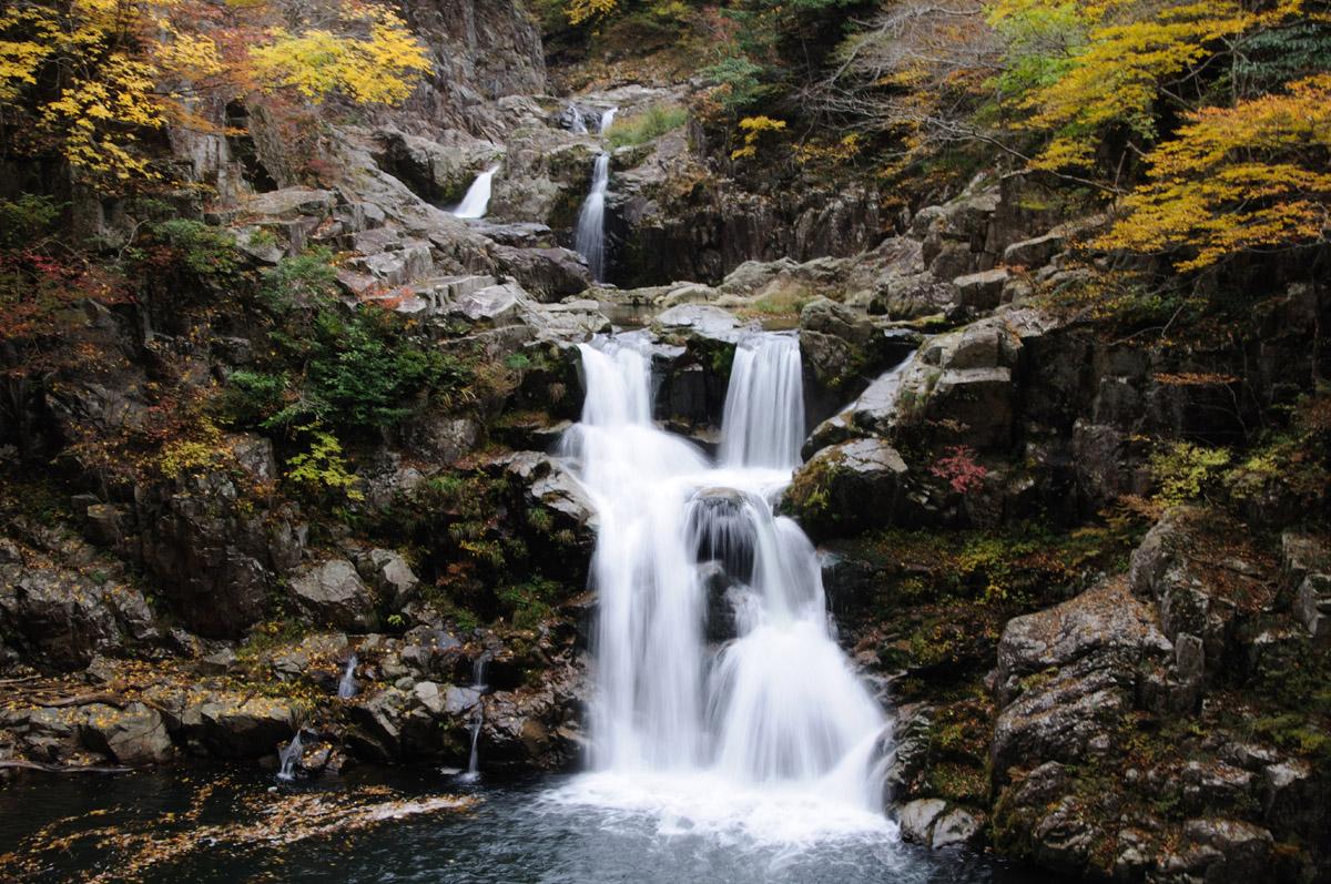 三段峡の三段滝その4