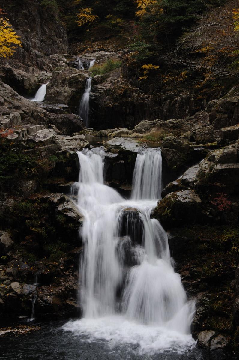 三段峡の三段滝その5