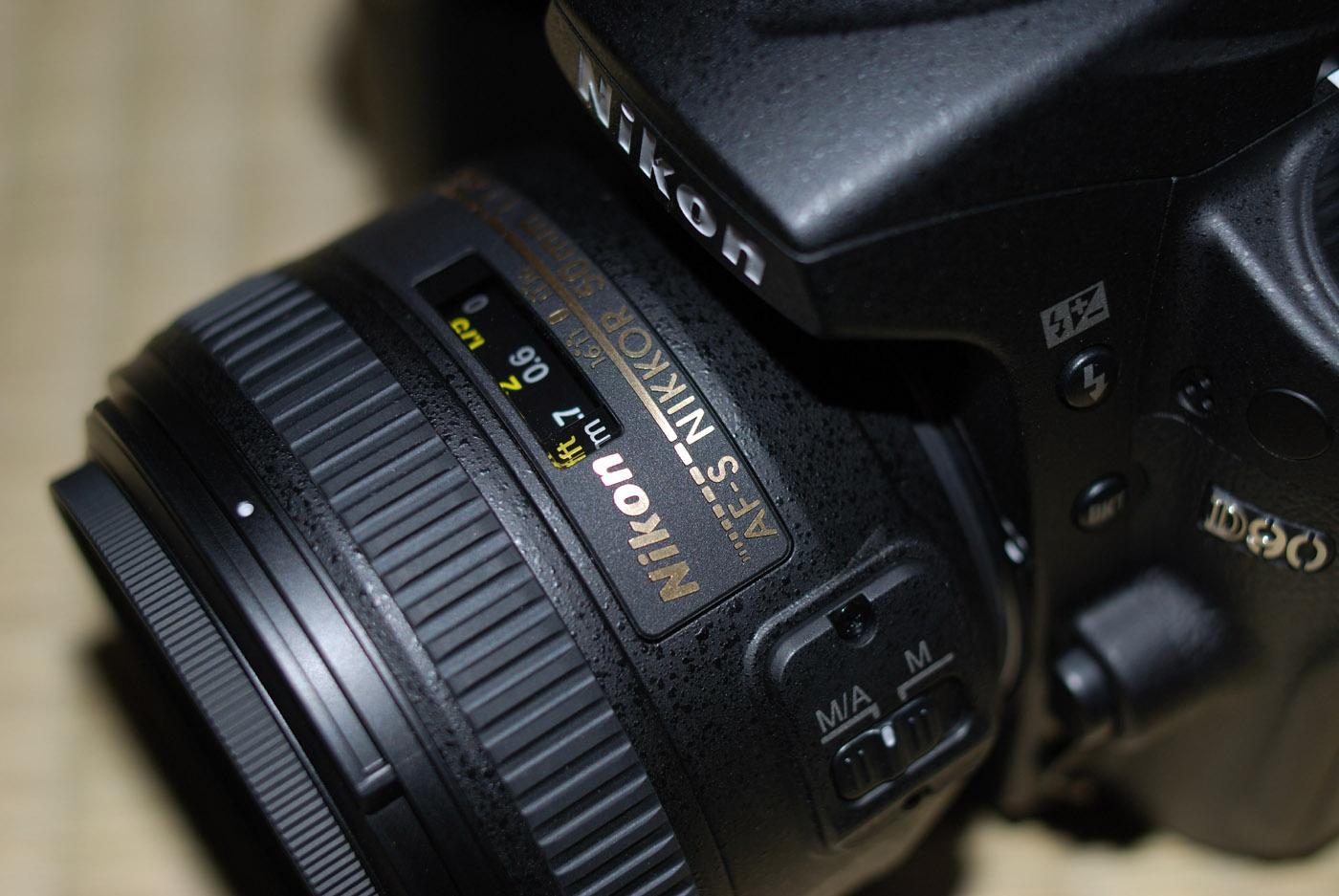Nikon D90とAF-S NIKKOR 50mm F1.4Gのくみあわせ