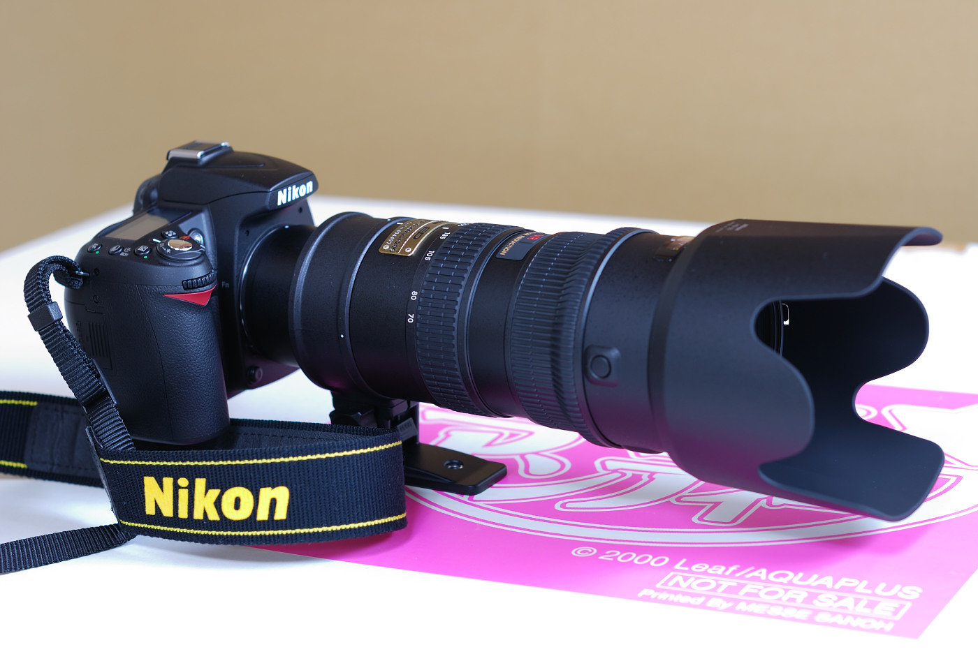 Nikon D90とAF-S VR Zoom-Nikkor ED 70-200mm F2.8G(IF)