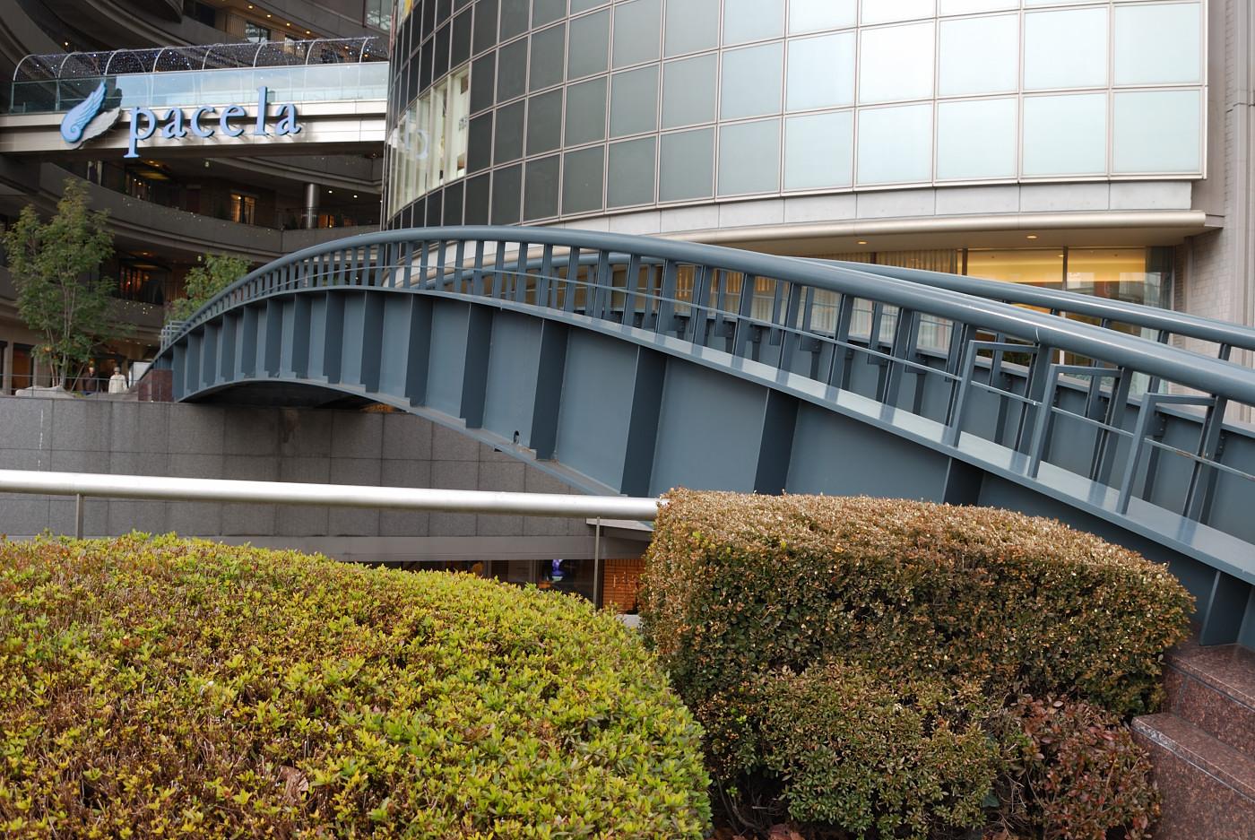 橋を斜めから