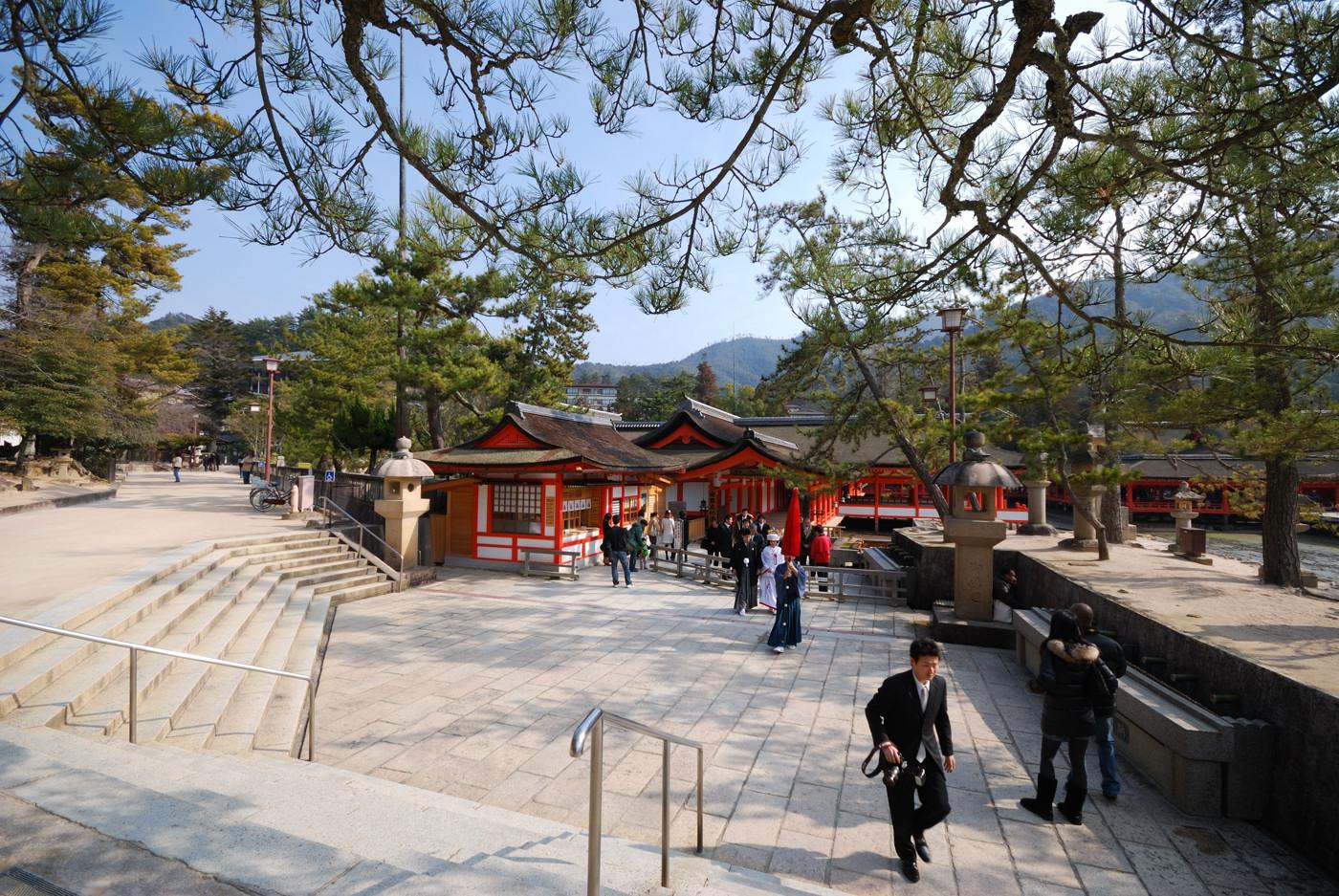 厳島神社で結婚式?その1