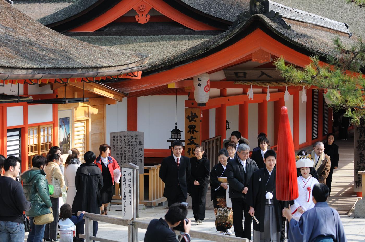 厳島神社で結婚式?その2