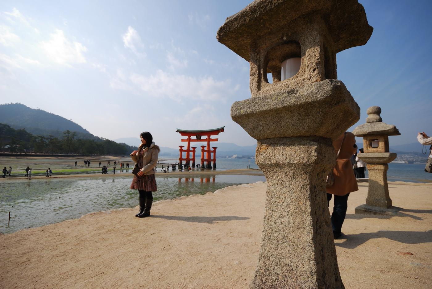 厳島神社の大鳥居その1