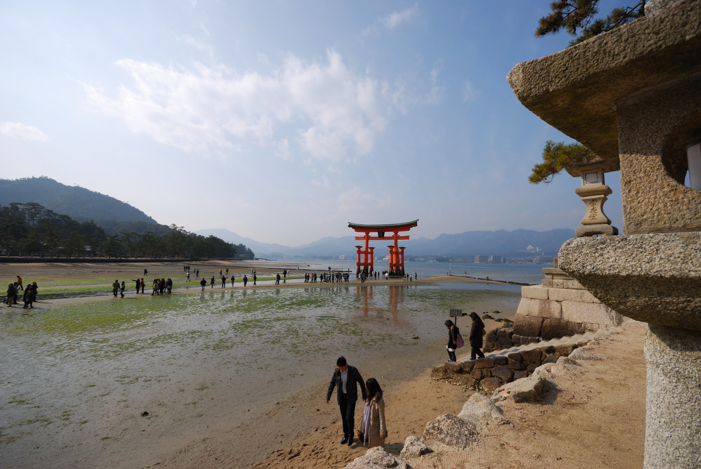 厳島神社の大鳥居その2