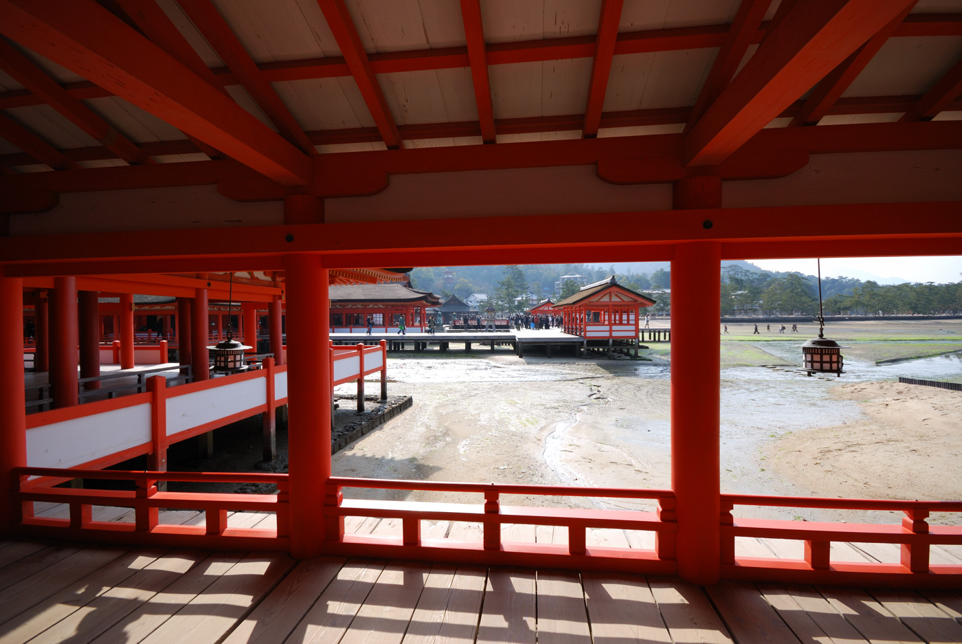 厳島神社の中その2