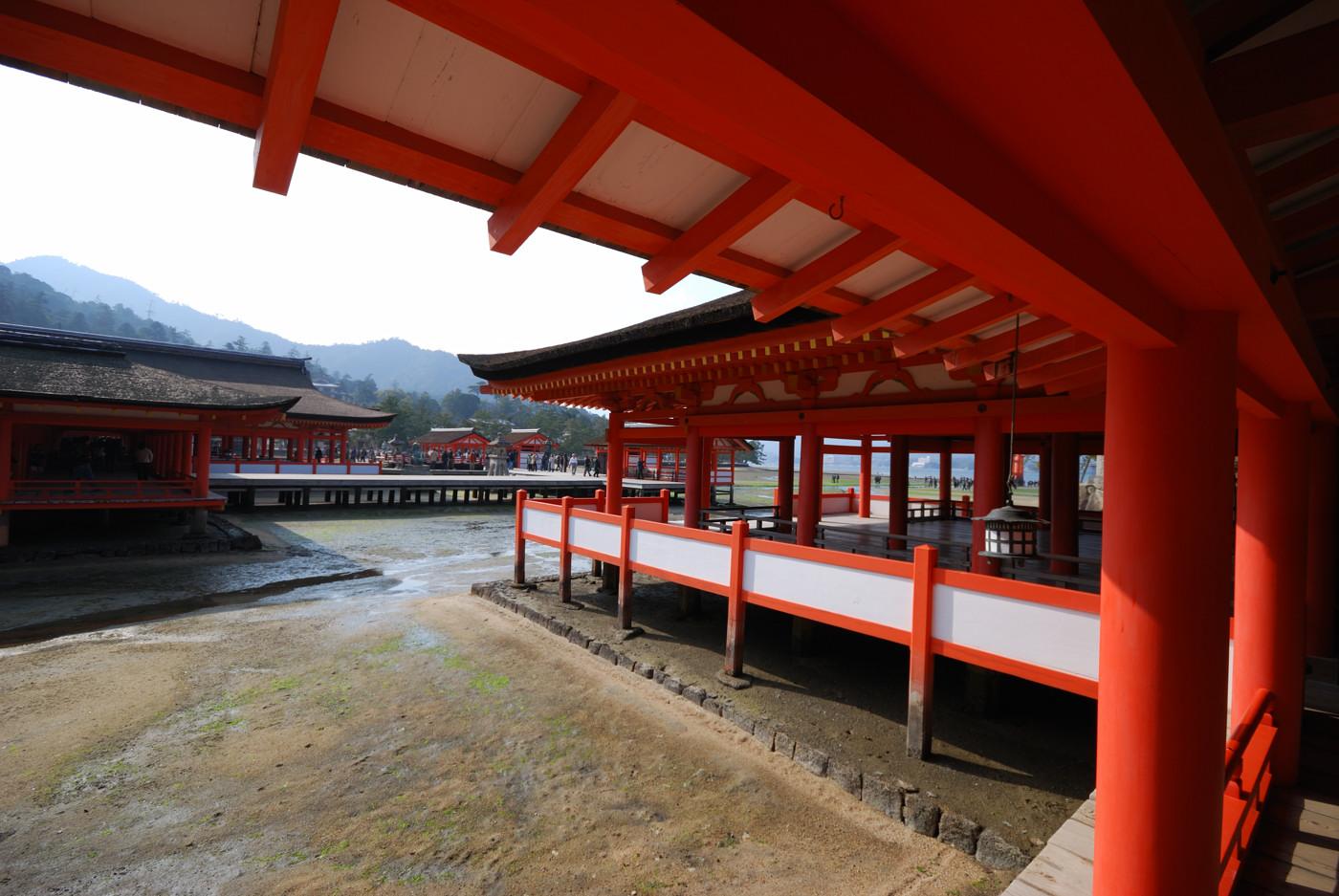 厳島神社の中から撮影その3