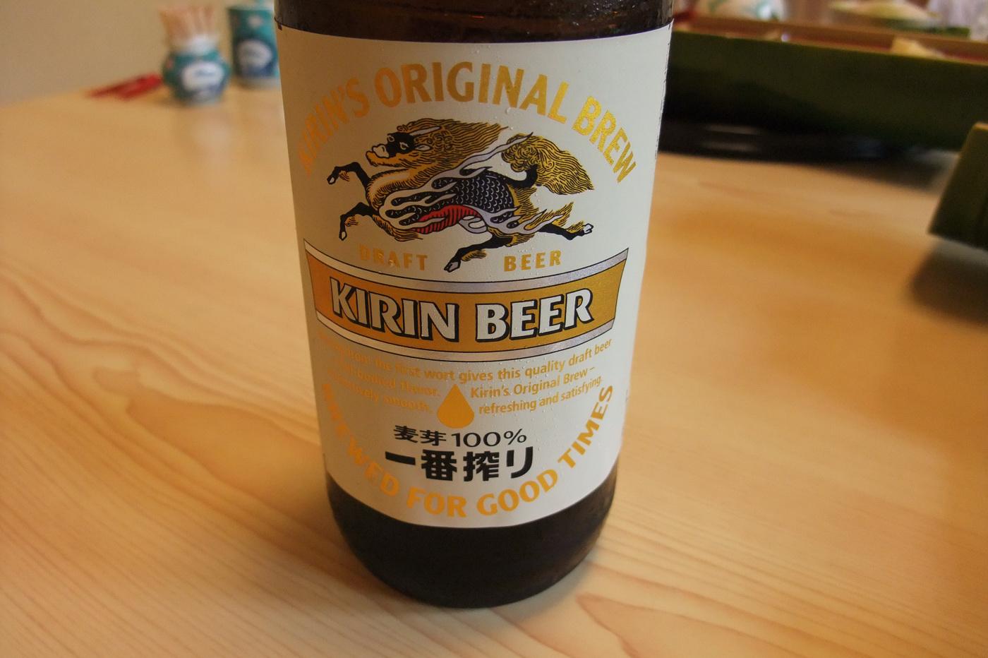 これがうわさのビールか!
