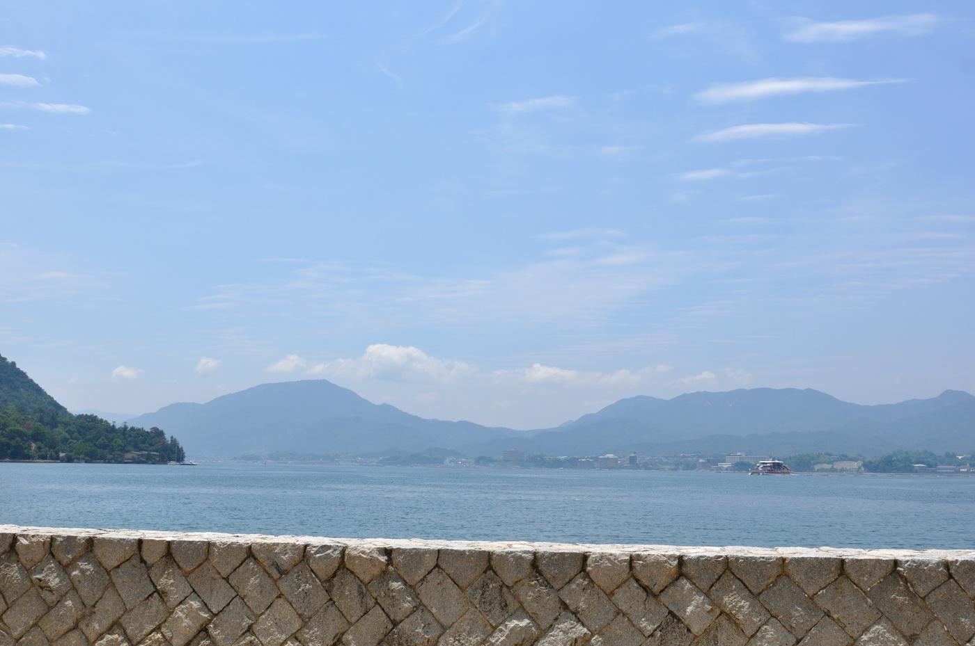 宮島の海~