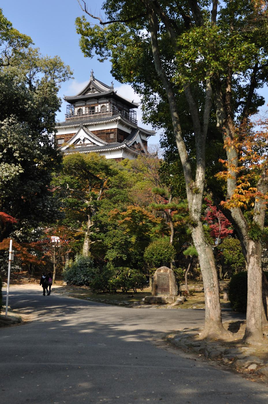 定番の広島城