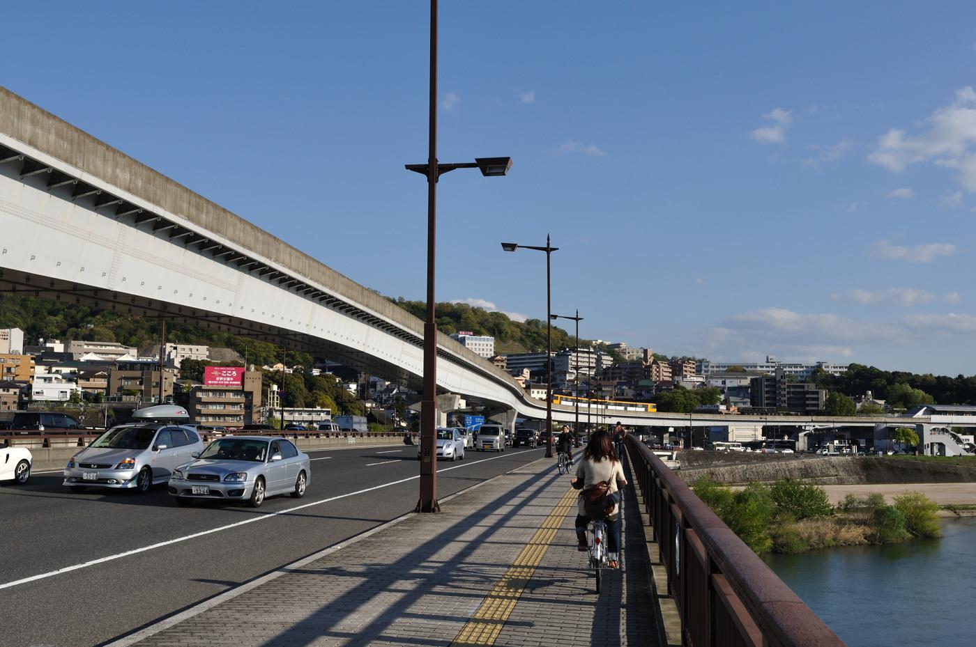 橋とアストラムライン