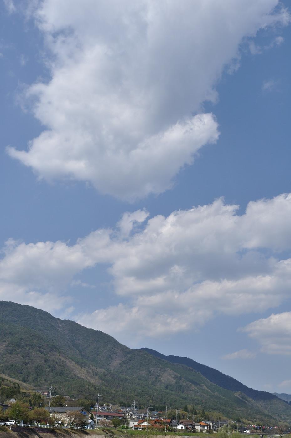 広がる雲~