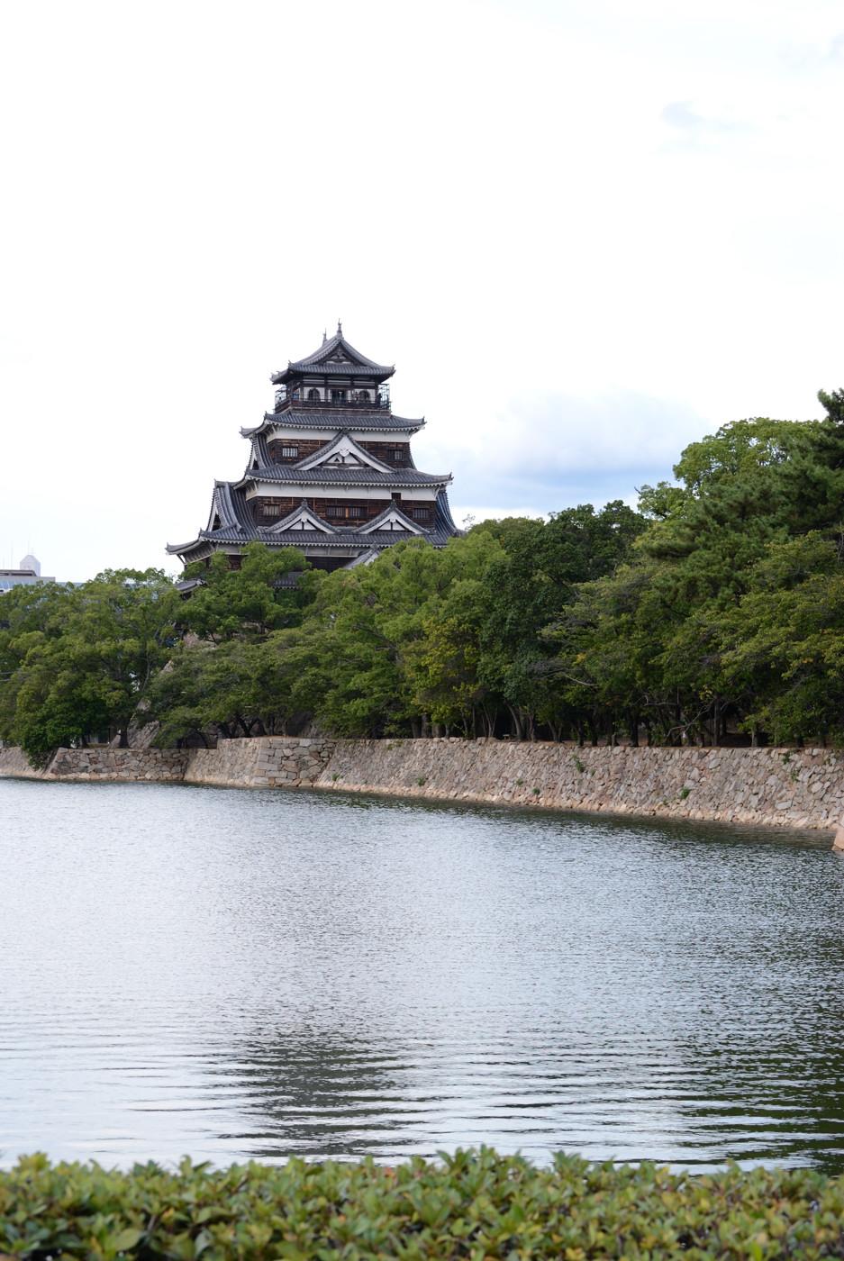 たまには広島城で