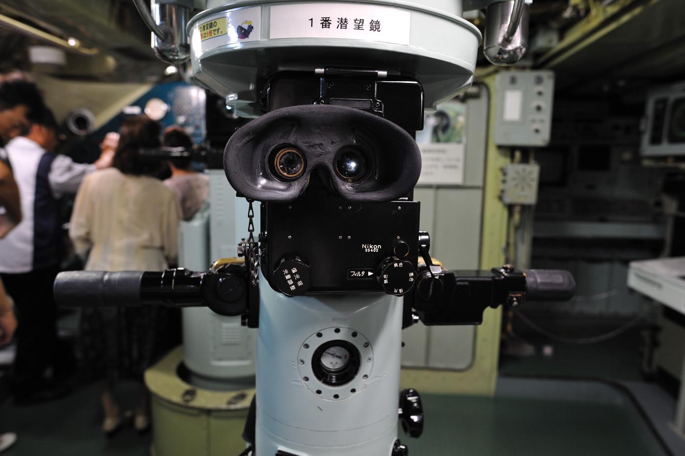 潜望鏡もやはりニコン