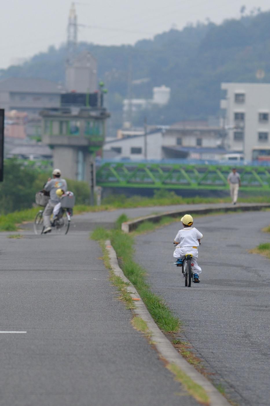 自転車のお子様