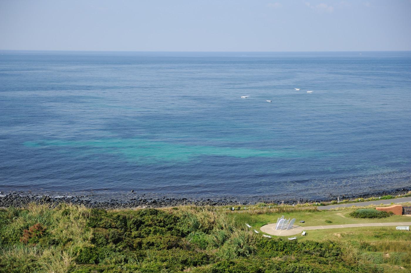 角島灯台からの眺めその2でゲソ