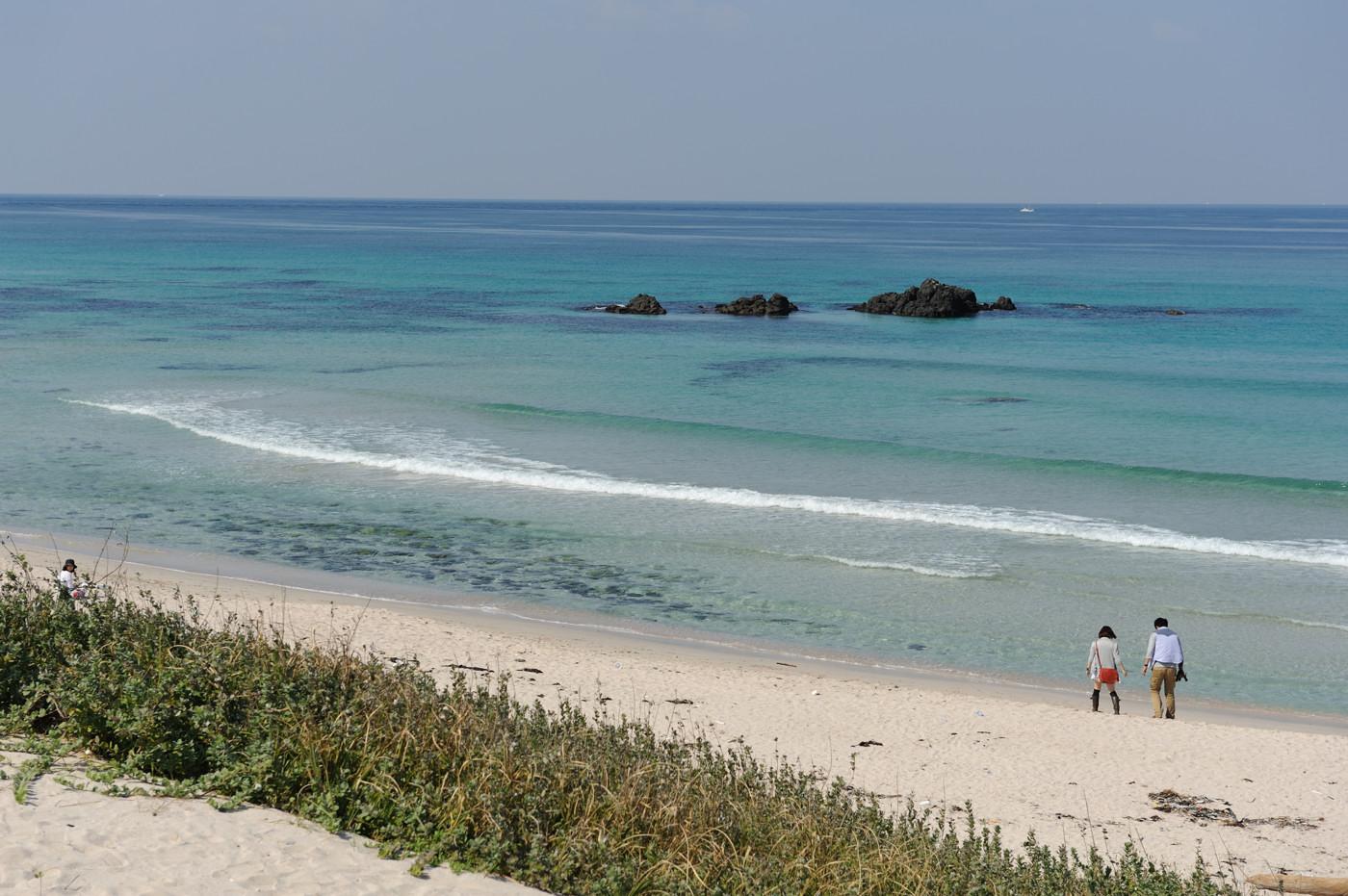 角島の海じゃなイカ?その1でゲソ