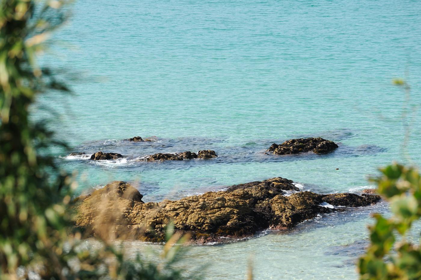 角島の海を望遠でその1