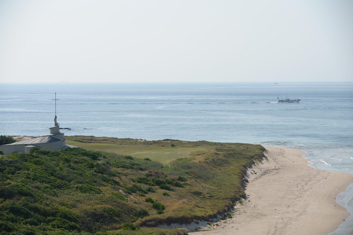 角島の海を望遠でその4