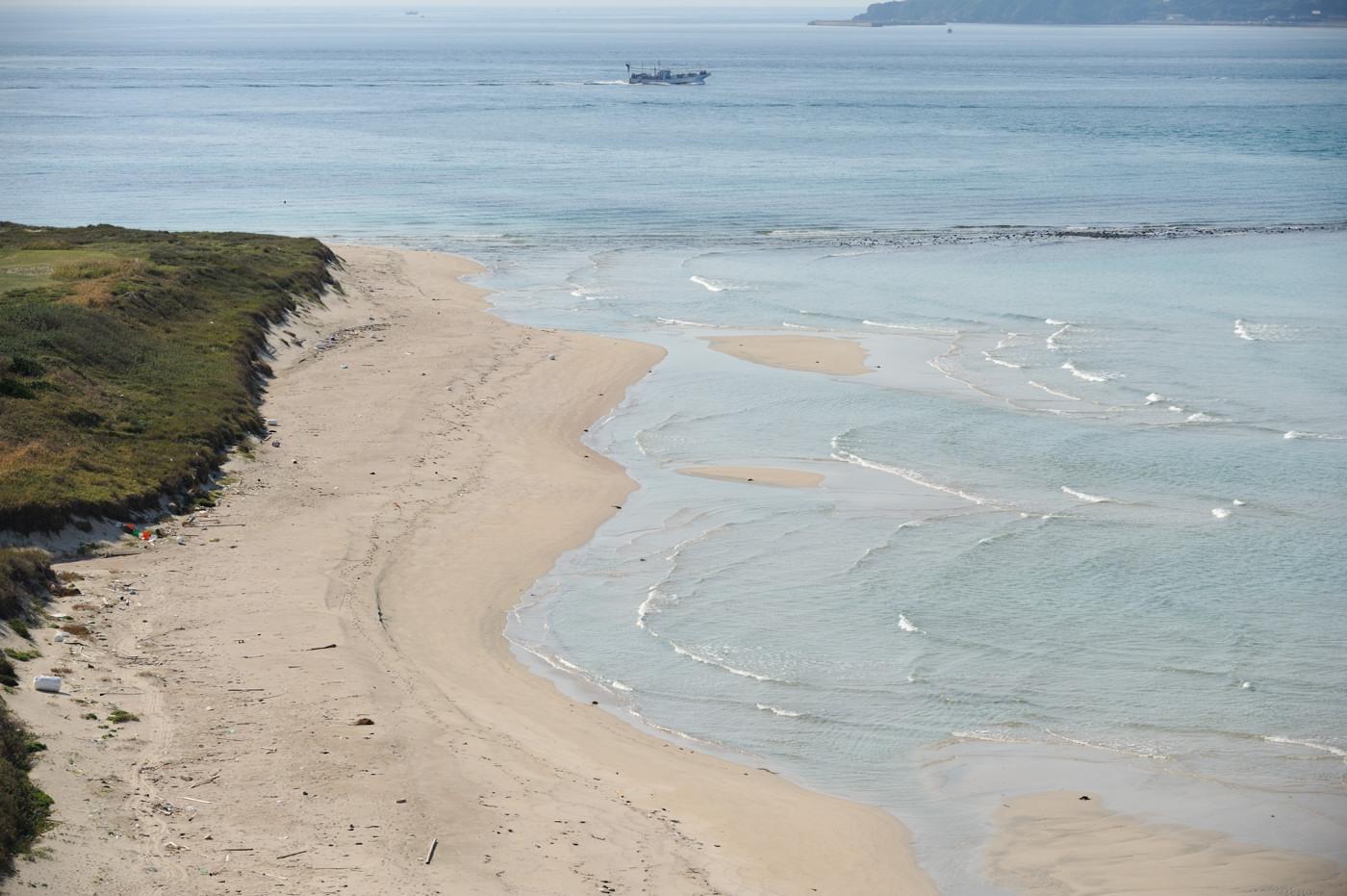 角島の海を望遠でその6
