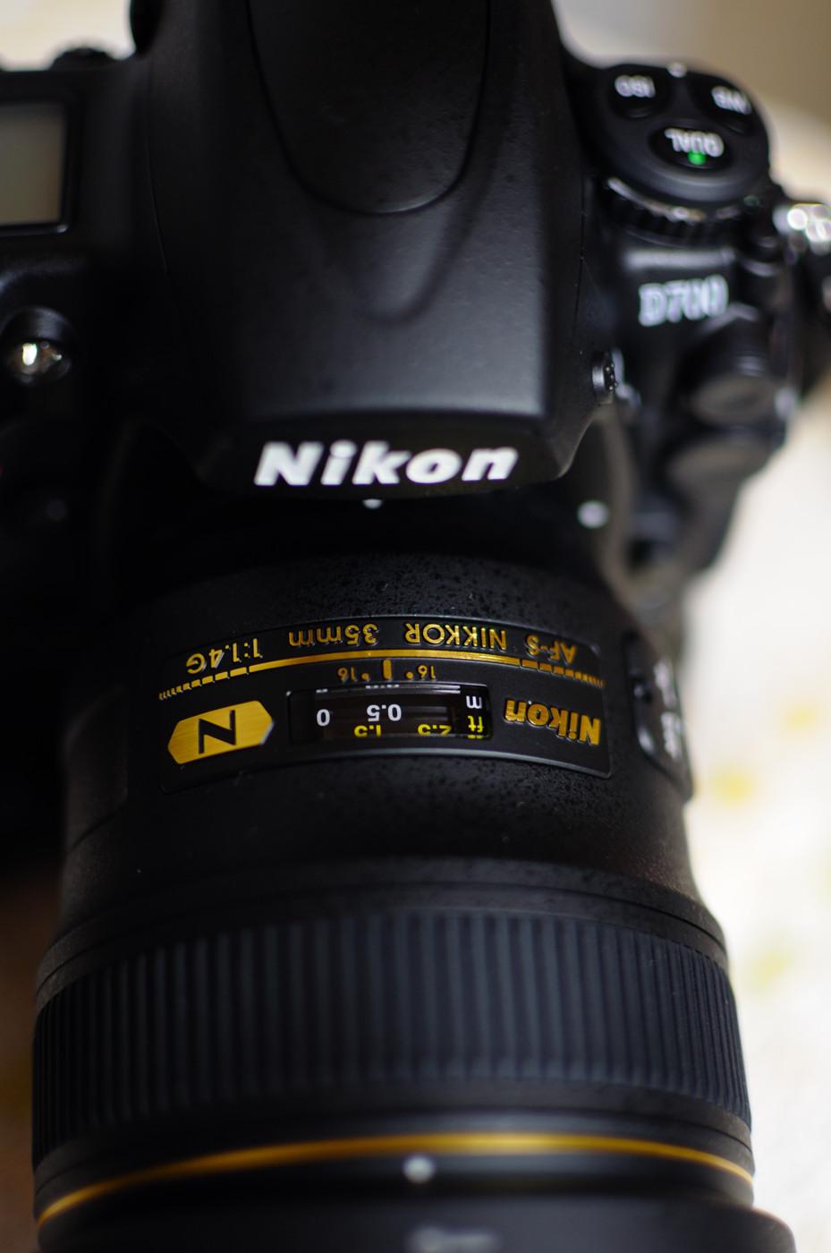 AF-S NIKKOR 35mm F1.4Gでゲソ