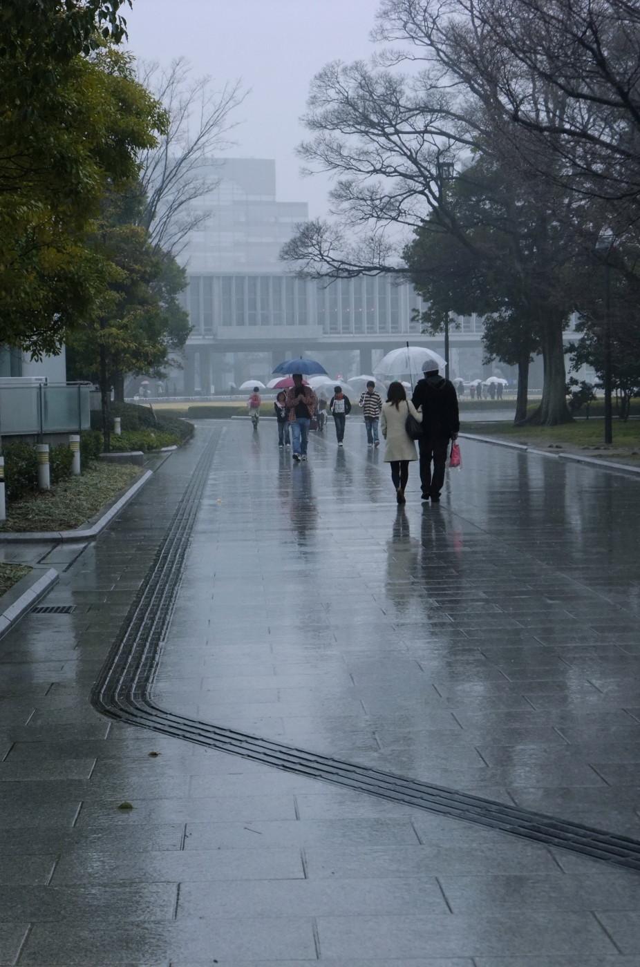 傘を忘れたでゲソ