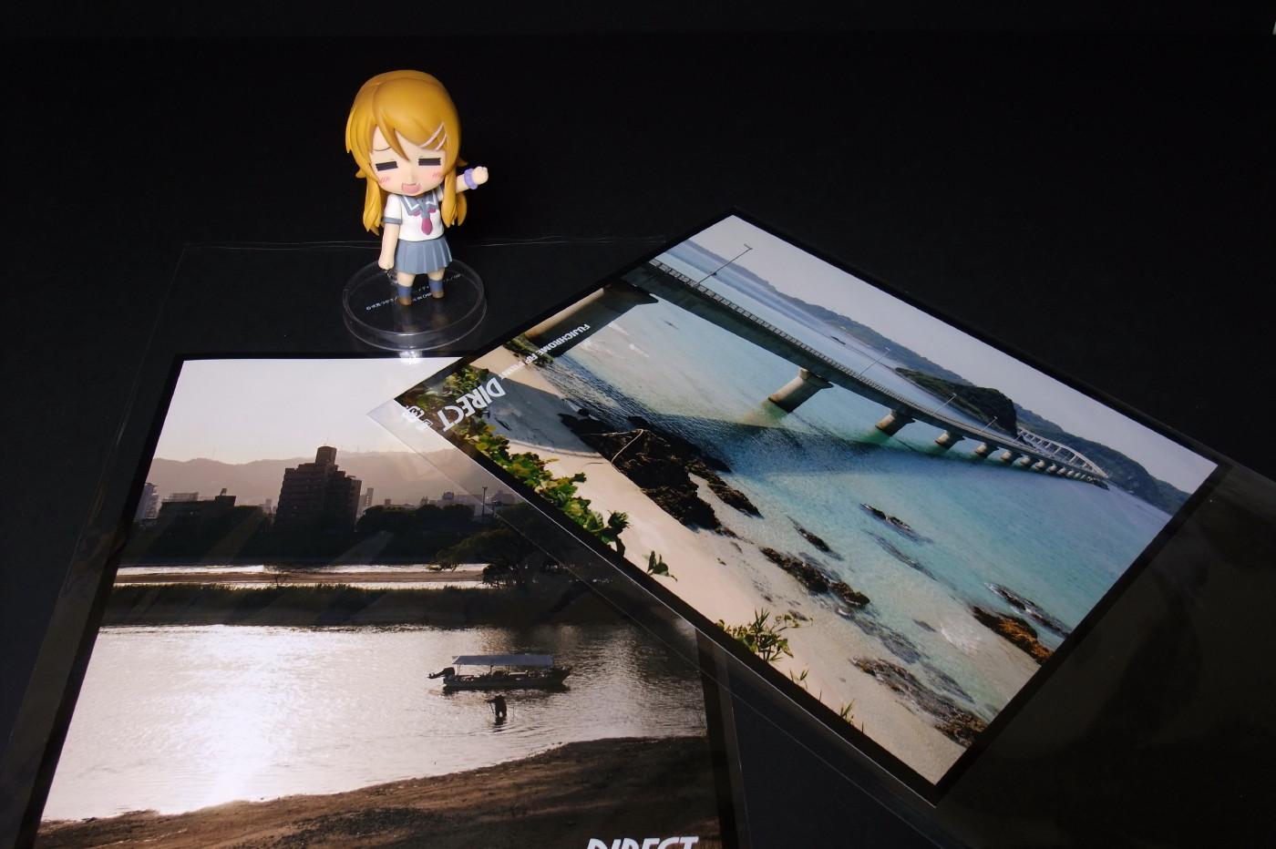 角島大橋と夕日でゲソ