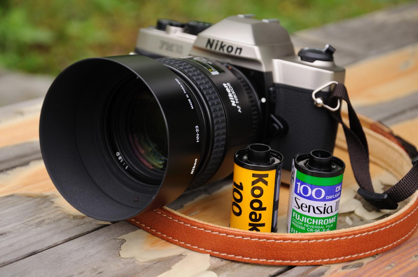 カメラとフィルムでゲソ