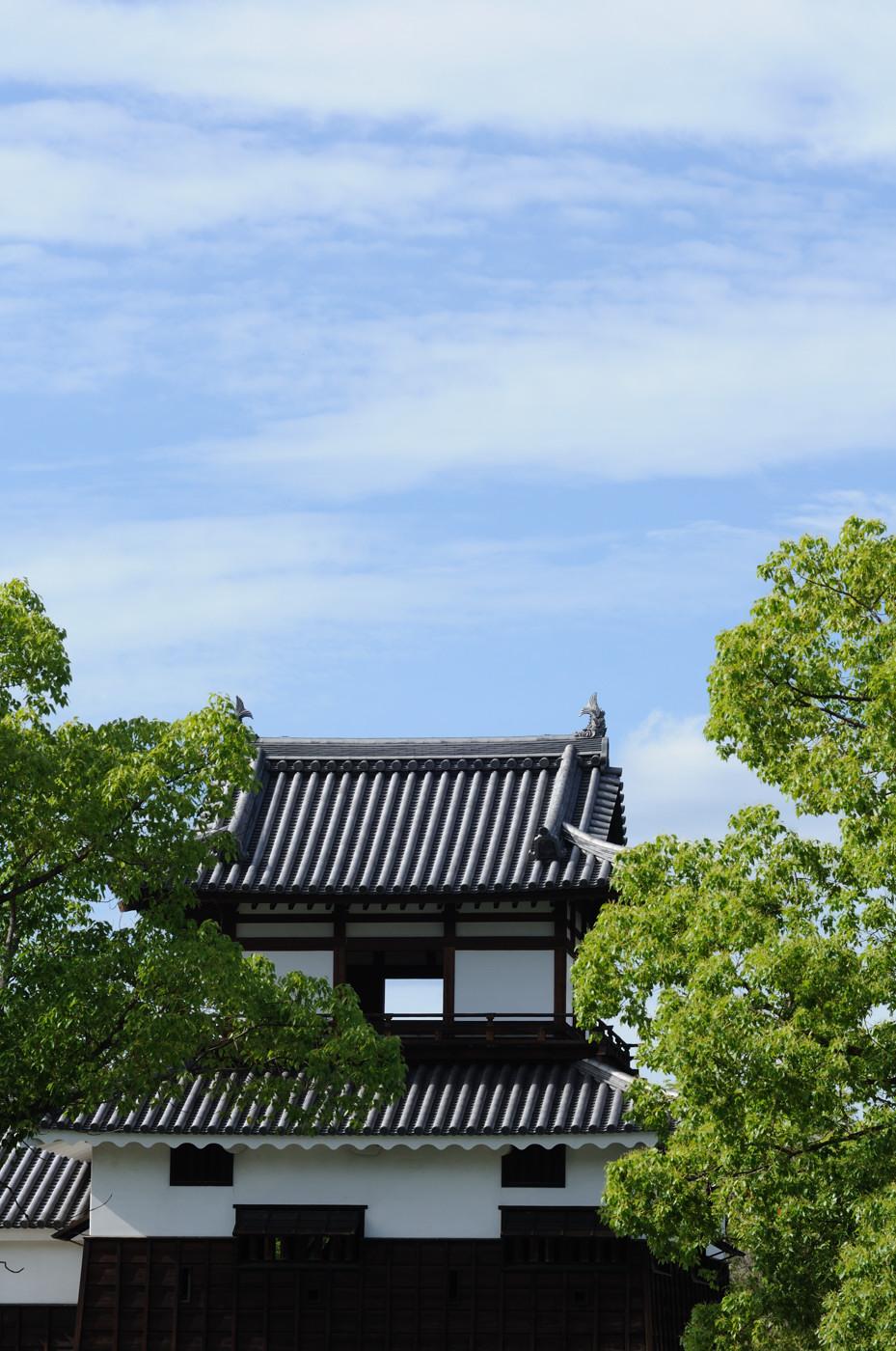 広島城の端っこでゲソ