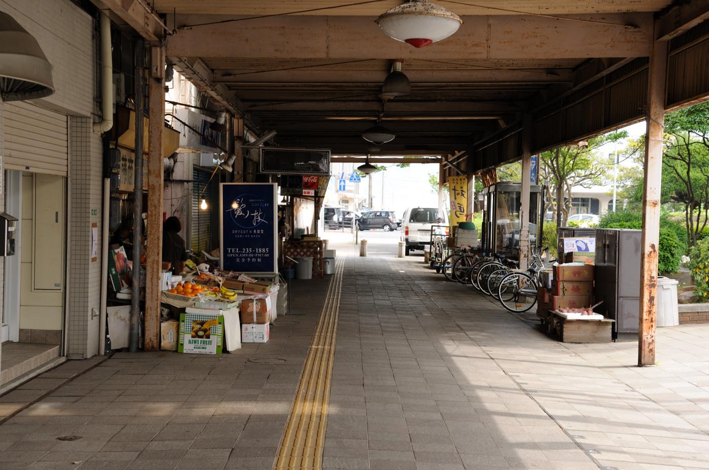 古い商店街でゲソ